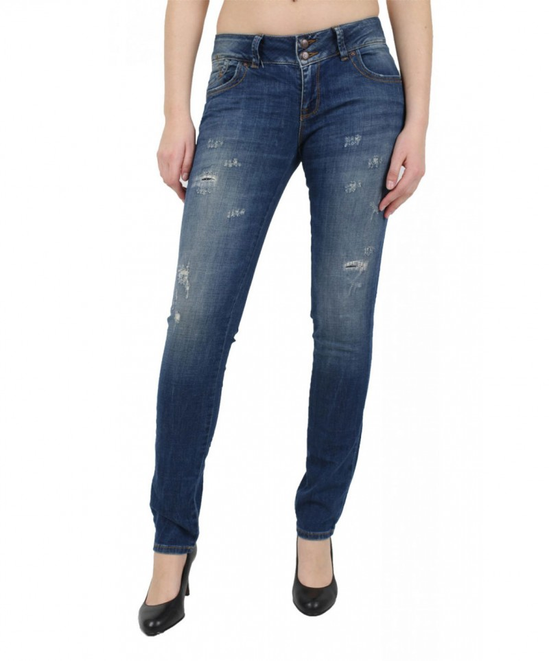LTB MOLLY Jeans - Super Slim - Evia Damaged v