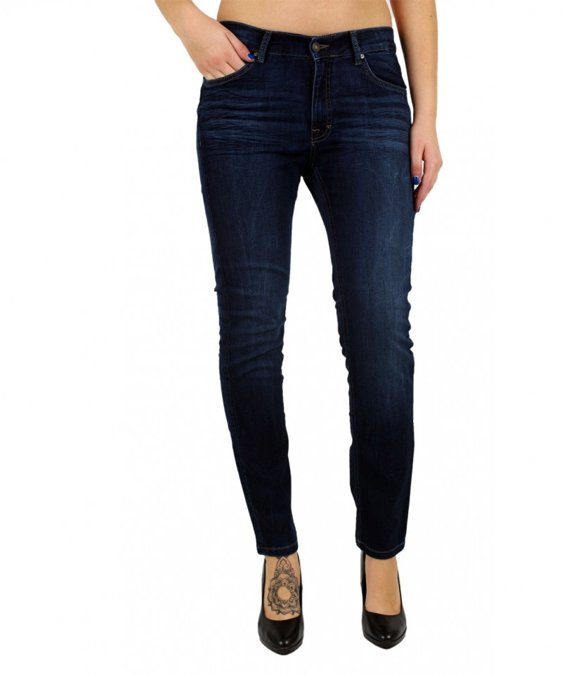 angels skinny jeans sweat denim dark used f r 89 90 kaufen. Black Bedroom Furniture Sets. Home Design Ideas