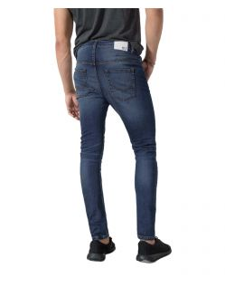 HIS ELLIOT - Tapered Fit Jeans - Pure Dark Blue - Hinten