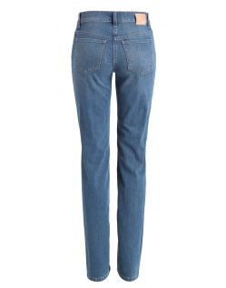 Mac Jeans Angela - Straight Leg - Stone h
