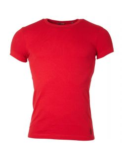 Gin Tonic Basic T-Shirt - Tight Fit - Rot