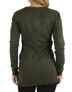 Vero Moda - Glory Strickjacke Long - Kombu Green h
