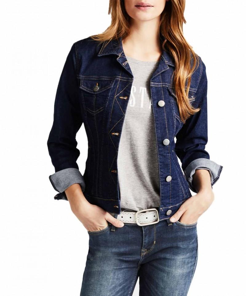 UK-Shop hochwertiges Design klassische Passform MUSTANG ICONIC - Jeansjacke - Rinsed Washed