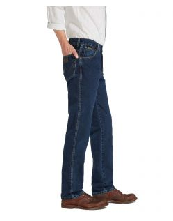 Wrangler Texas Jeans - Regular Fit - Blue Black - Seite