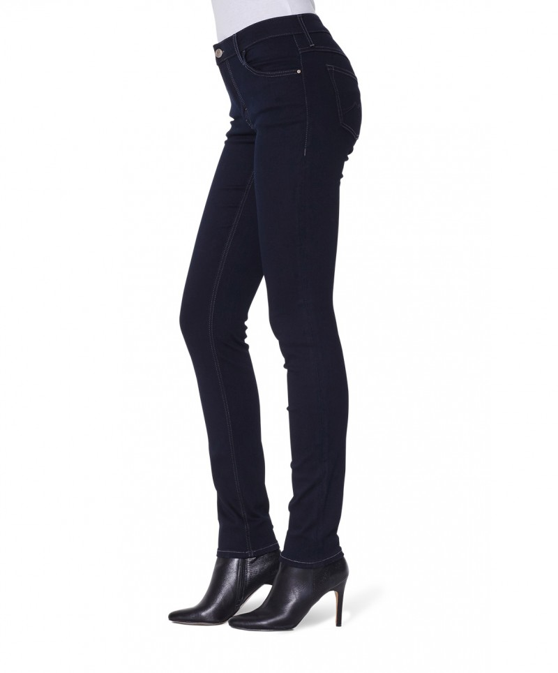Mustang SISSY SLIM - Stretch Jeans - Rinse Washed