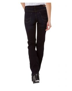CROSS Jeans Rose - Straight Leg - Blue Black Used - Hinten