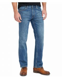Mustang Tramper - Slim Fit Jeans in mittelblauen Used Look