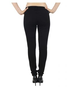 MAVI ADRIANA - Super Skinny Jeans - Double Black - Hinten