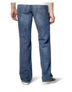 Mustang Tramper Jeans - Slim Fit - Strong Bleach - Hinten