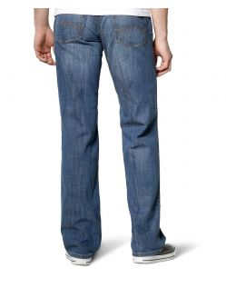 Mustang Tramper Jeans - Slim Fit - Strong Bleach - Hinten