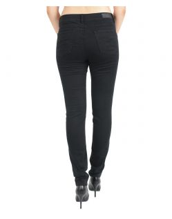 Angels Skinny Jeans - Sweat Denim - Jetblack - Hinten