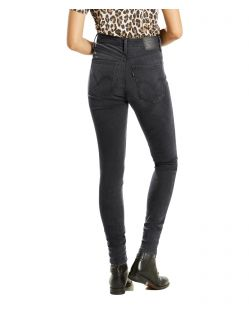 LEVI'S MILE HIGH - Super Skinny - Faded Ink - Hinten