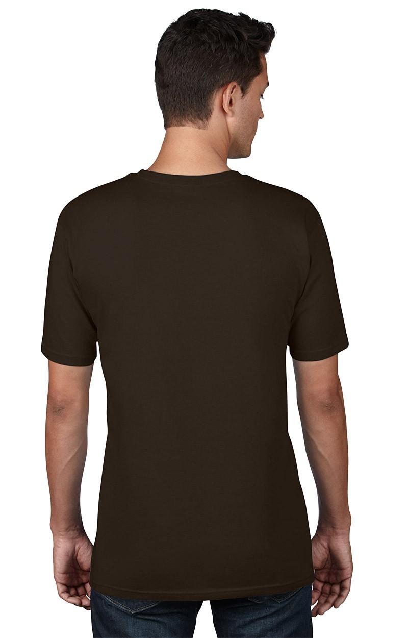 Anvil T-Shirt - Anvil Organic™ Tee - Chocolate