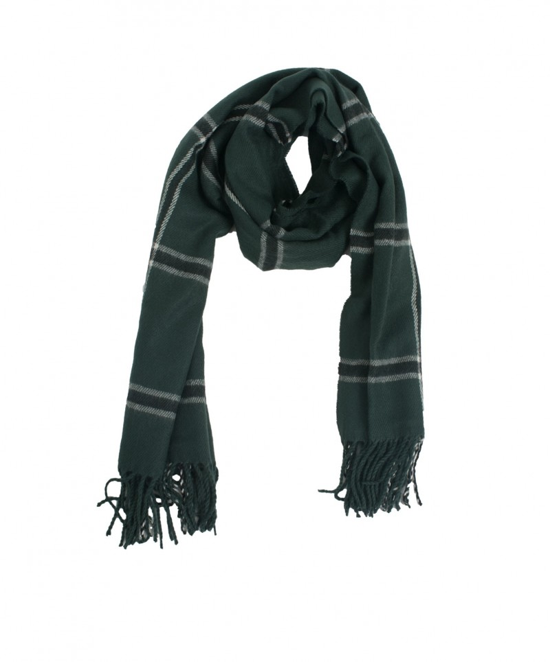 Vero Moda - Check Long Scarf - mit Fransen - Green Gables