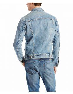 LEVI'S Jeansjacke für Herren - Standart Trucker Fit - Icy - Hinten