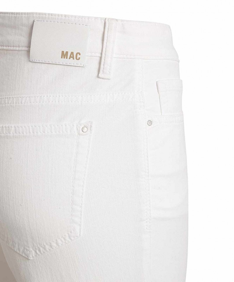 Mac Melanie Jeans - Straight Leg - white