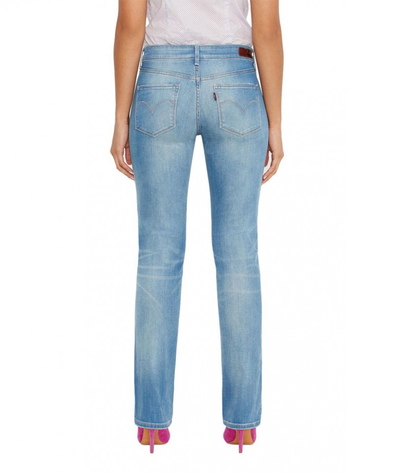 Levis Demi Curve - Straight Jeans - Electric Land
