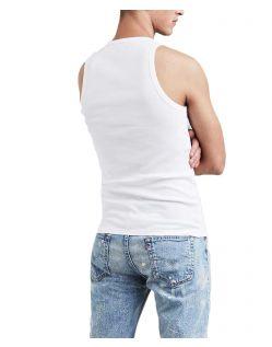 Levis Tank Top - weißes T-Shirt mit Kurzarm - Hinten