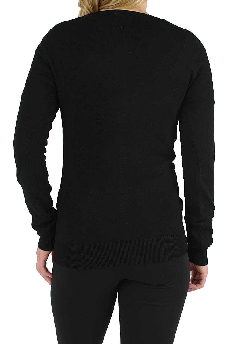 Vero Moda Glory  v-neck cardigan black