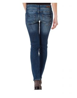 Cross Jeans Melissa - Skinny Jeans - Dirty Blue - Hinten