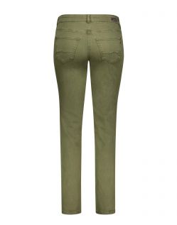 MAC MELANIE Jeans - Feminine Fit - Military Green - Hinten