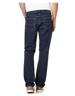 Pioneer Jeans Rando - Straight Leg - Blue Black - Hinten