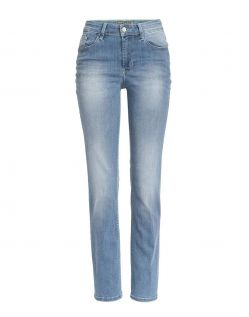 MAC MELANIE - Jeans Straight Leg - authentic light blue