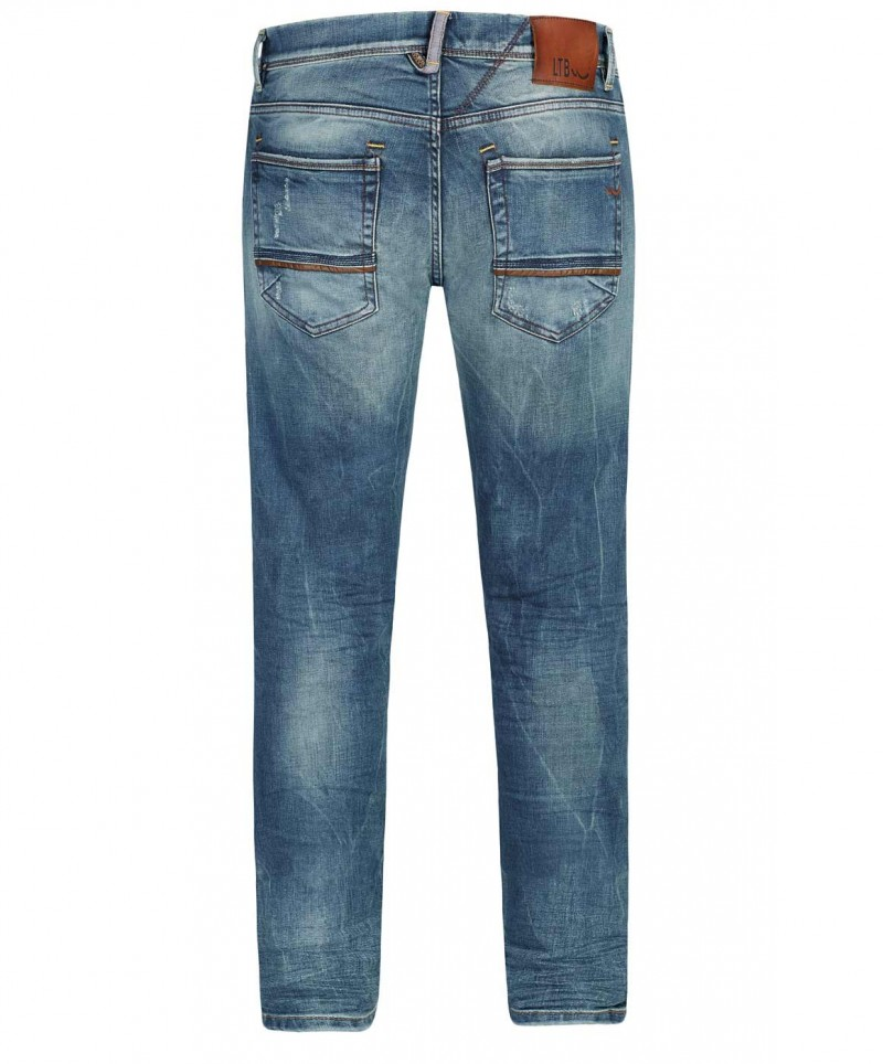 LTB SERVANDO Jeans - Tapered Leg - Avventura Wash