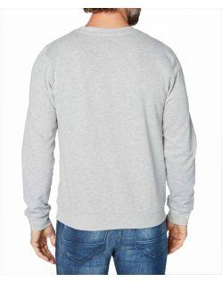 Colorado Denim Olliver - graues Sweatshirt mit Logo Print - Hinten