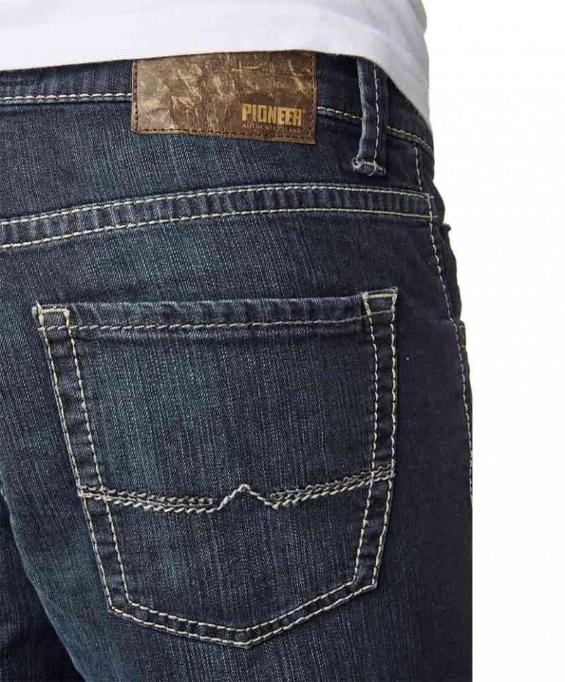 Pioneer Rando Jeans - Straight Leg -  Dark used with Buffies