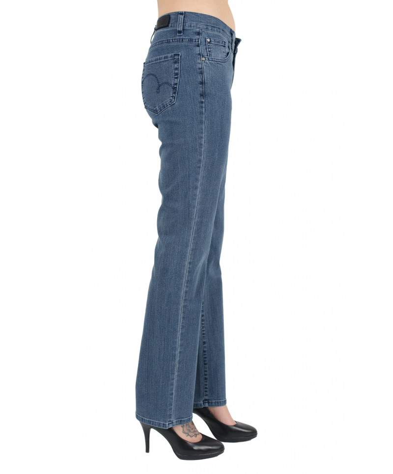 Angels Dolly Jeans - Straight Leg - Superstone