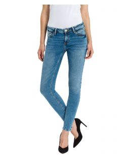 CROSS Jeans Adriana - Super Skinny Fit in hellem Blue Used