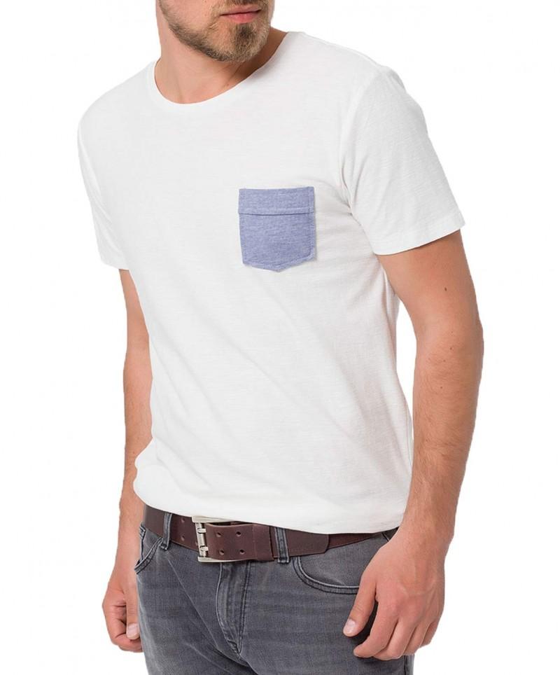 Cross Jeans Gürtel - Doppeldorn Metalschließe - Dunkelbraun