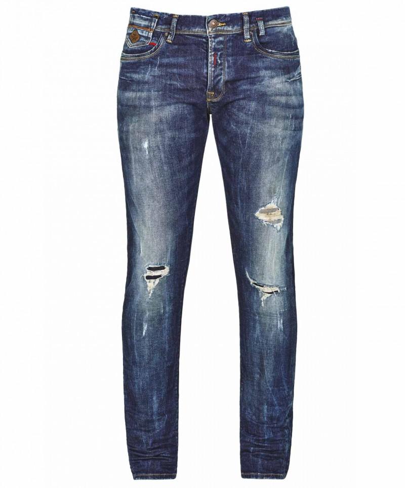 LTB SERVANDO Jeans - Tapered Leg - Ravi Wash