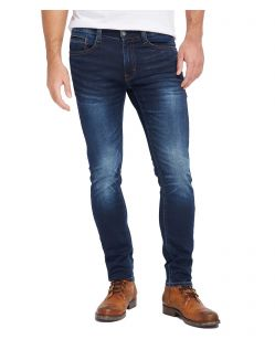 Mustang Oregon Tapered Jeans in dunkler Vintage-Waschung