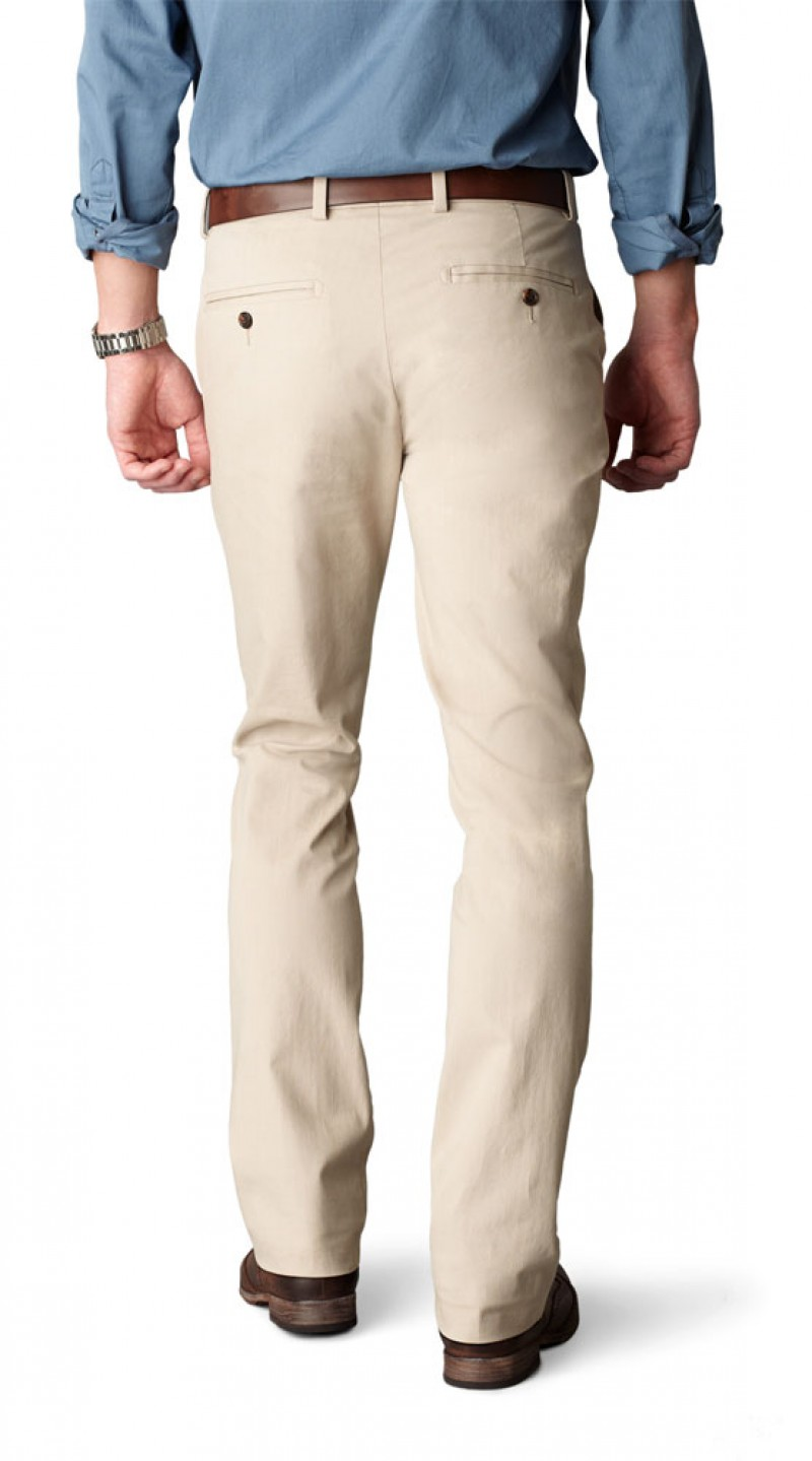 Dockers ZERO - EXTRA SLIM STRETCH - Khaki