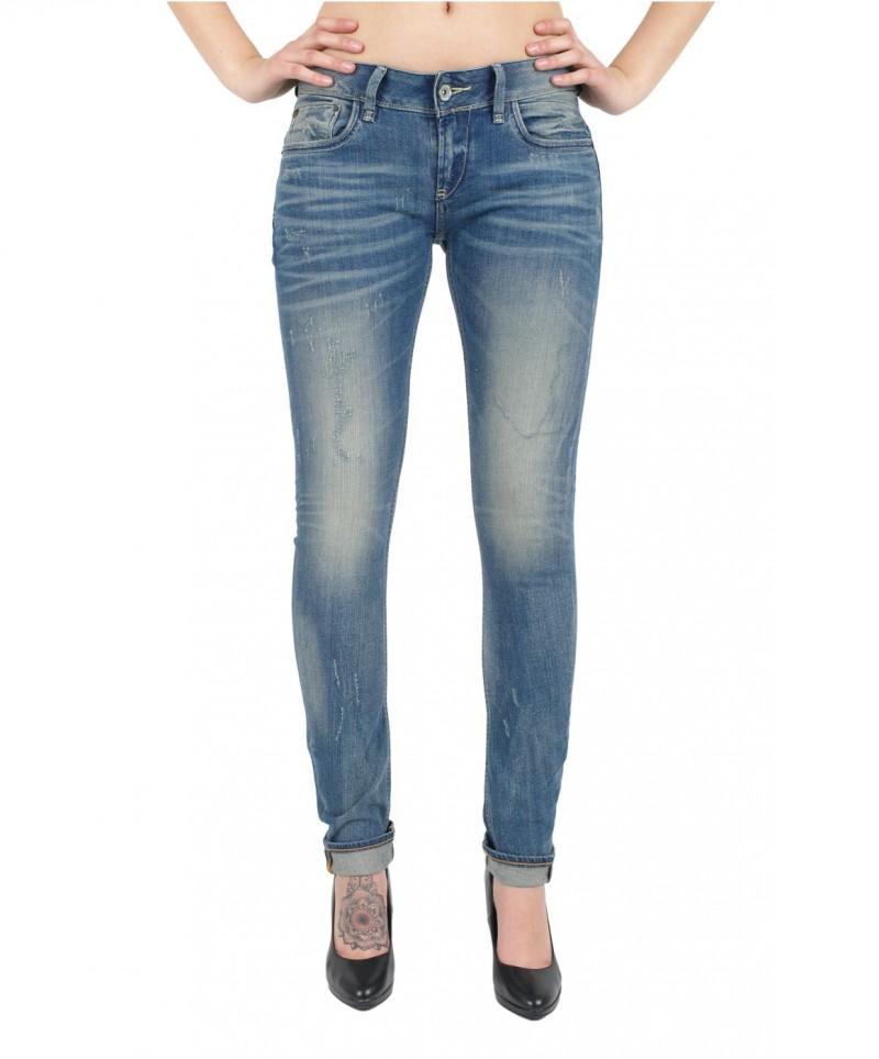 GARCIA RIVA Jeans - Slim Leg - Vintage Destr