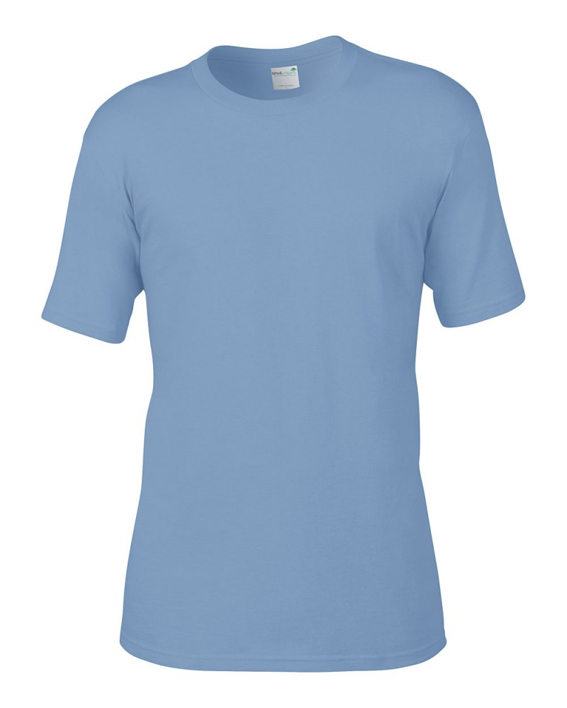 Anvil T-Shirt - AnvilOrganic™ Tee - River Blue