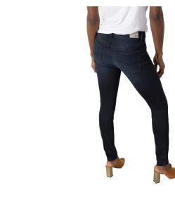 HIS LORRAINE - Super Skinny Jeans - Advanced Blue Black Wash - Hinten