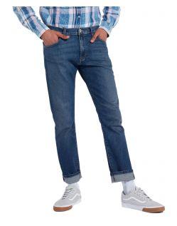 Wrangler Larston - Slim Tapered Jeans in Indigo Wit
