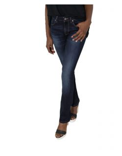 HIS COLETTA Jeans - Straight Fit - Advanced Dark Blue