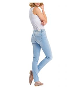 Cross Anya - Slim-Fit-Jeans in Light Blue Waschung - f02