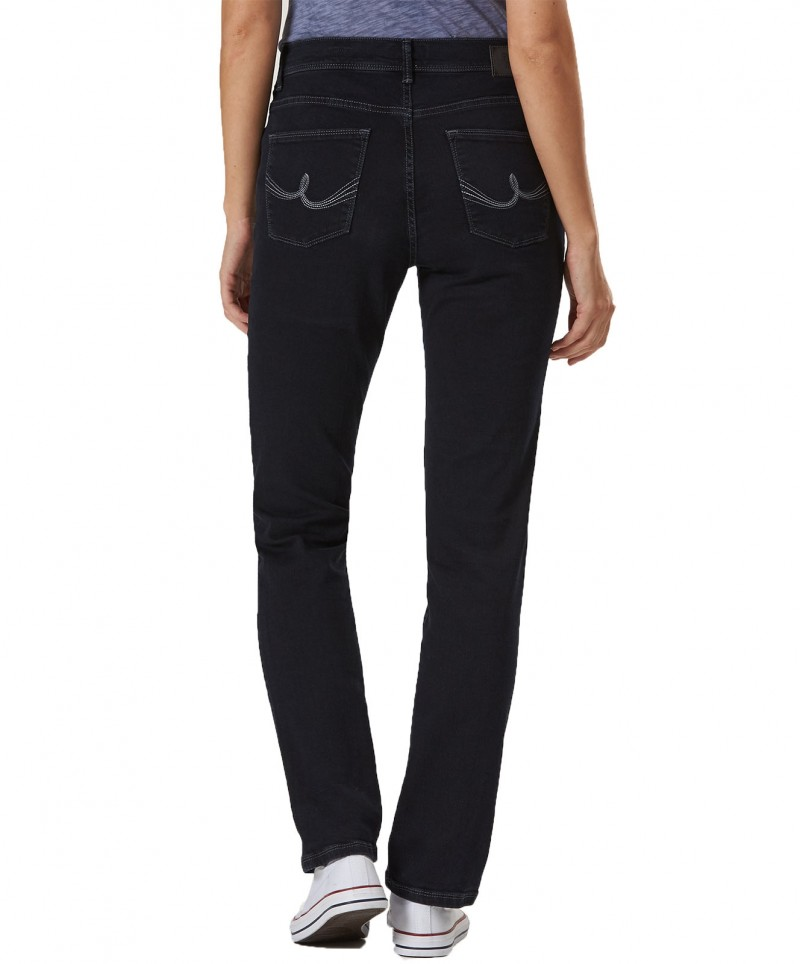 Pioneer BETTY - Blue Black Jeans mit geradem Schnitt