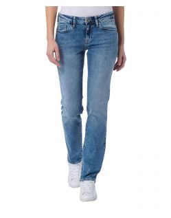CROSS Jeans Rose - Straight Leg - Light Blue Used Crincle