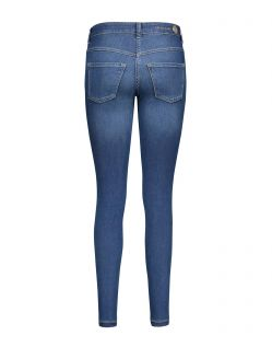 Mac DREAM SKINNY - Slim Fit Jeans - Mid Blue Authentic - Hinten