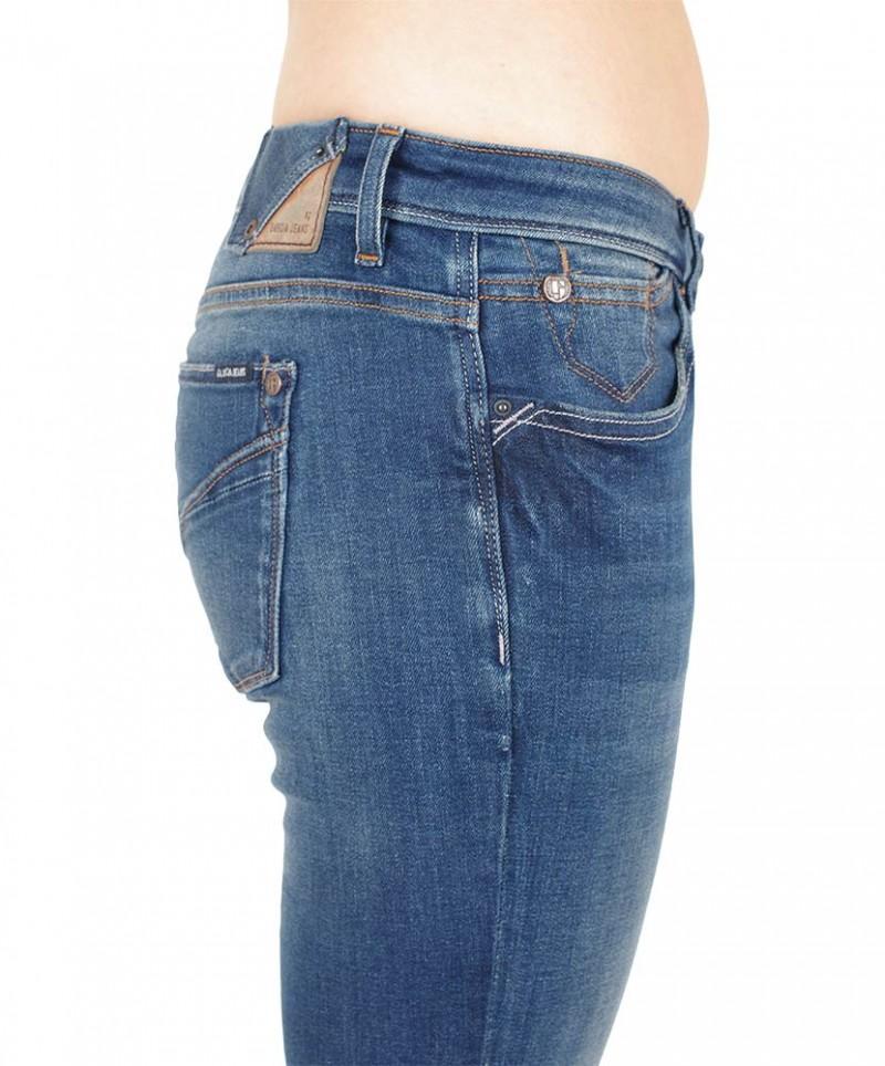 GARCIA Rachelle Jeans - Slim Fit - Dark Blue Used