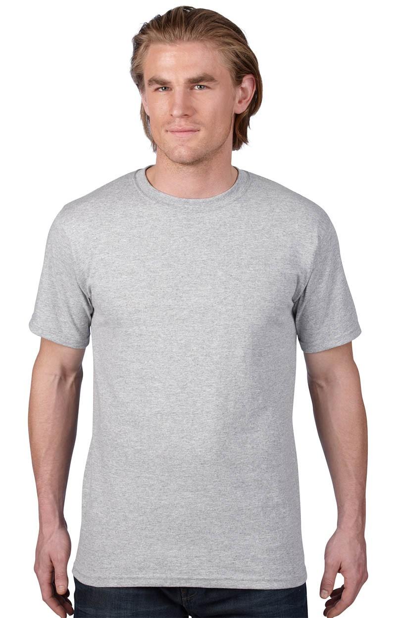 Anvil T-Shirt - Heavyweight - Heather Grey