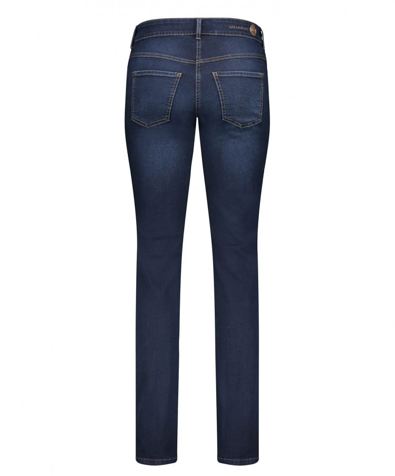 MAC DREAM Jeans - Straight Leg - Summer Mid Blue