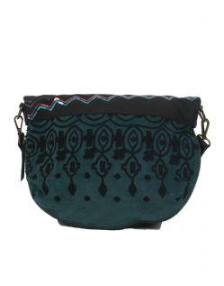 Desigual Tasche - Bols Folded Eternal - Schwarz - Hinten