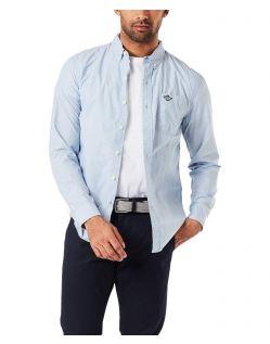 Dockers Baumwoll Hemd Alpha in schmaler Form